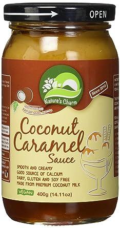 Natures Charm Salsa de coco vegana y sin gluten: Amazon.com ...