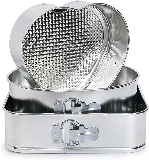 Molde de horno desmontable para repostería y postres | Juego 3 ...