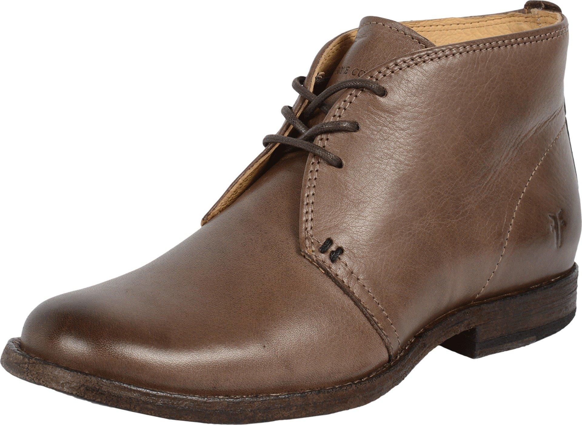 FRYE Women's Phillip Chukka Grey Soft Vintage Leather Boot 6 B (M)