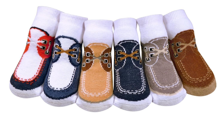 hot sell JazzyToes Baby Boys' Socks Docksider save more