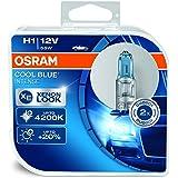 OSRAM 64150CBI-HCB COOL BLUE INTENSE H1 Halogen-Scheinwerferlampe, 12V PKW, Duobox (2 Stück)