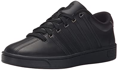 df191ad9db402f K-Swiss Women's Court Pro II CMF Athletic Shoe, Black/Gunmetal, 5