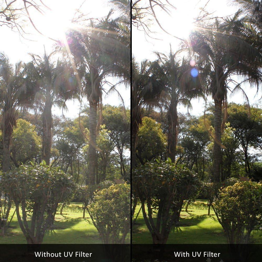 for Nikon D5600 UV-CPL-FLD D7500 with AF-S DX NIKKOR 18-140mm f//3.5-5.6G ED VR 67mm Multi-Coated 3 Piece Filter Kit