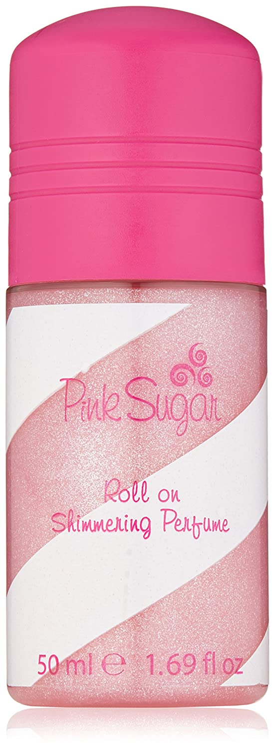 Pink Sugar by Aquolina Shimmering Perfume Roll-On for Women, 1.70-Ounce 99 Perfumes CA Dropship 180597