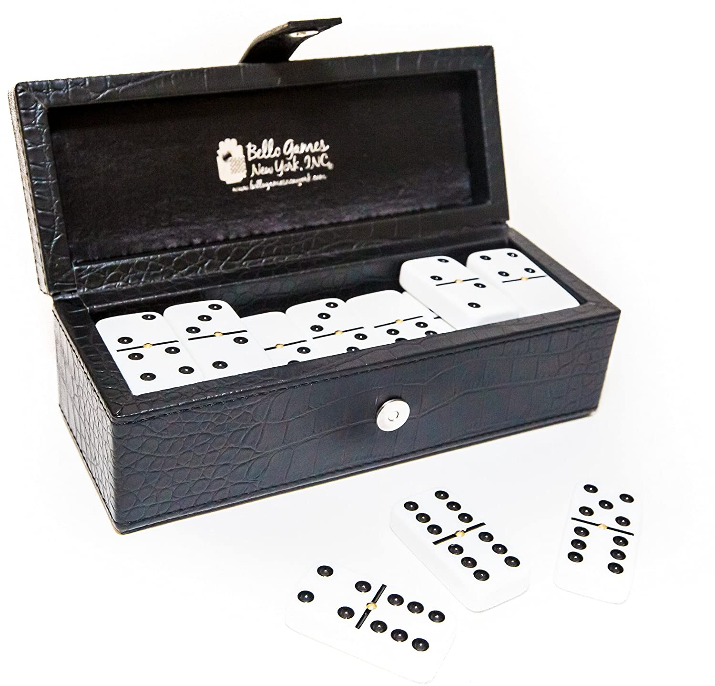 登場! Flushing Flushing Meadows Double Six White Professional Jumbo Jumbo Size B074W3WP4T Tournament Dominoes Set with Spinners B074W3WP4T, やさしさON-LINE:e04b9f58 --- yelica.com