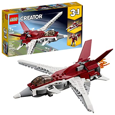 LEGO Creator 3in1 Futuristic Flyer 31086 Building Kit (157 Pieces): Toys & Games