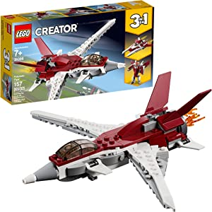 LEGO Creator 3in1 Futuristic Flyer 31086 Building Kit, 2019 (157 Pieces)