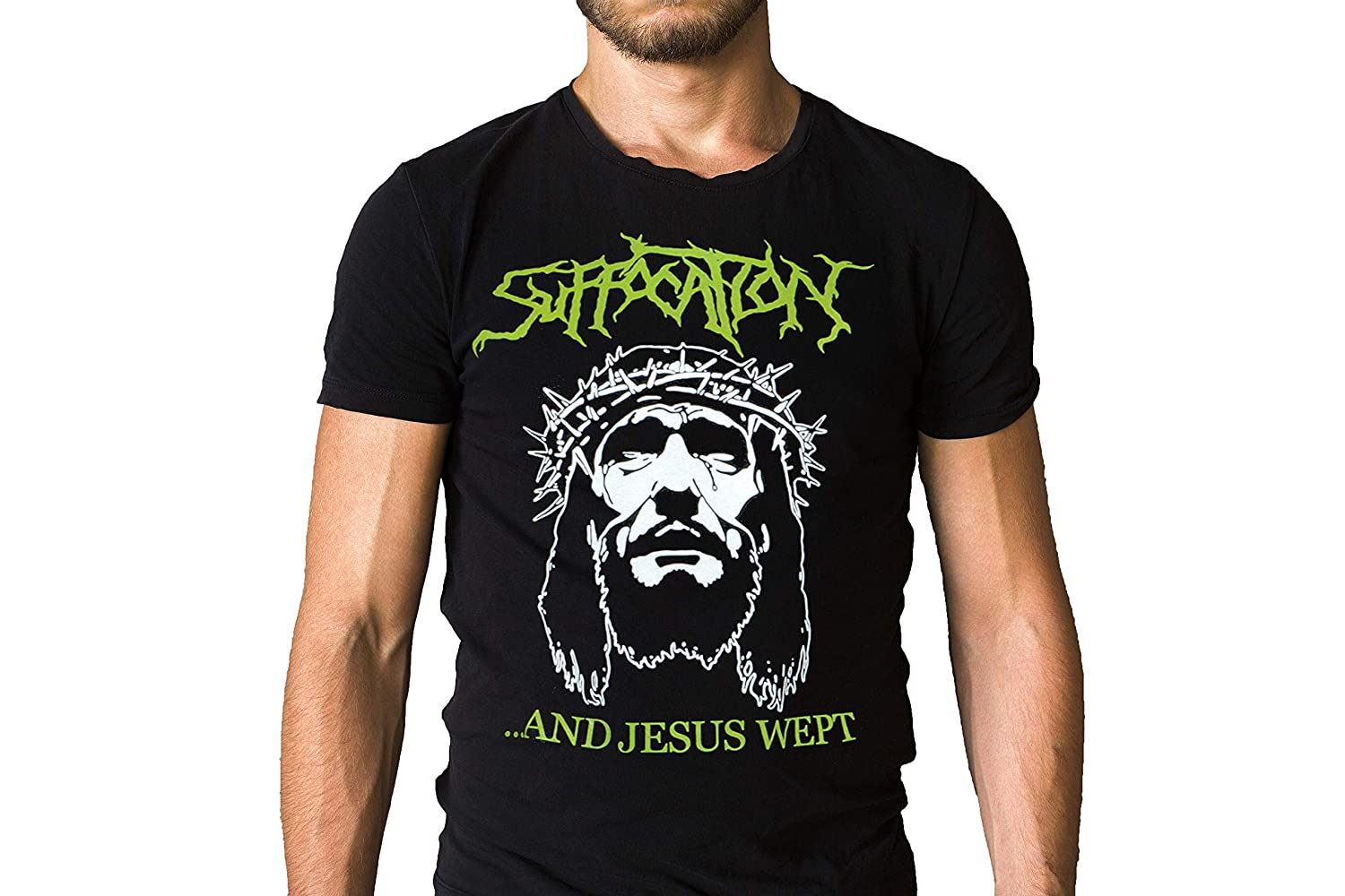Suffocation and Jesus Wept Logo T-Shirt