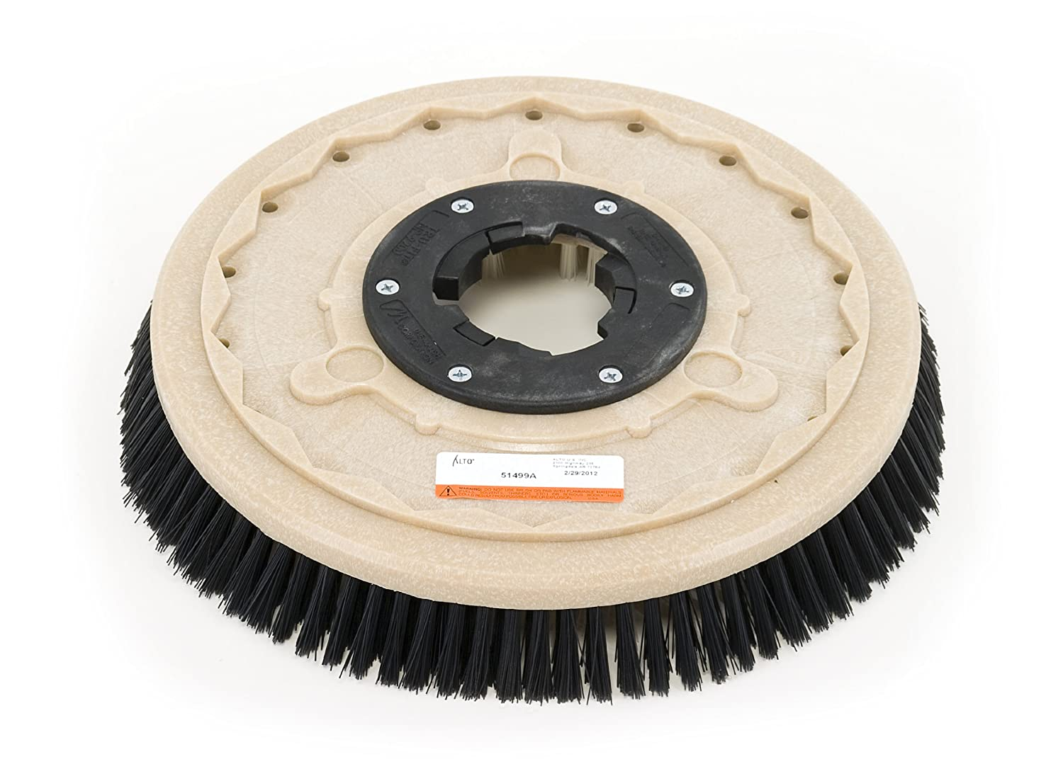 Clarke 51499A Commercial 17 Inch Diameter Nylon Brush, Carpet Applications:  Floor Machine Brush: Amazon.com: Industrial & Scientific
