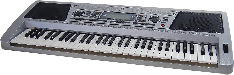 Teclado 61 teclas DynaSun MK939 LCD MIDI Respuesta Táctil Pitch Bend Keyboard E-Piano Electronico Digital Función Enseñanza Inteligente