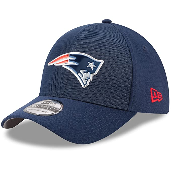 eb82cff01b6 New Era 39Thirty Hat New England Patriots NFL 2017 On Field Color Rush  Official Flex Cap