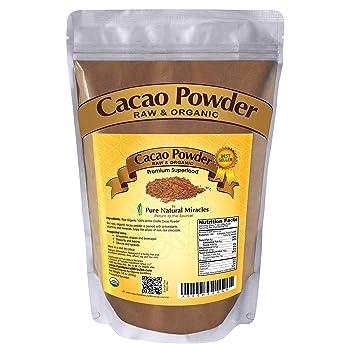 Pure Natural Miracles Organic Raw Cocoa Powder