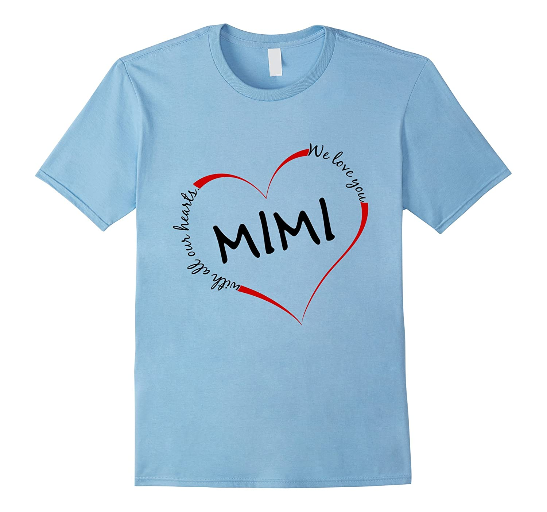 MIMI Shirt Best Gift for Grandmothers Funny Grandma T-Shirt