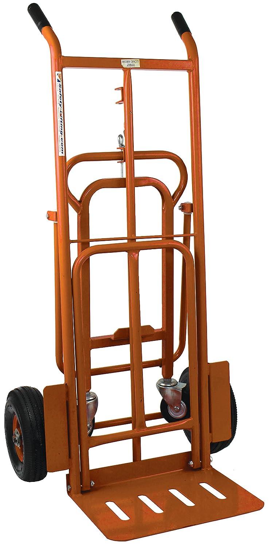 250kg 3 in 1 Sack Truck Hand Trolley Dolly Barrow Platform with Pneumatic Wheels SafetyLiftinGear