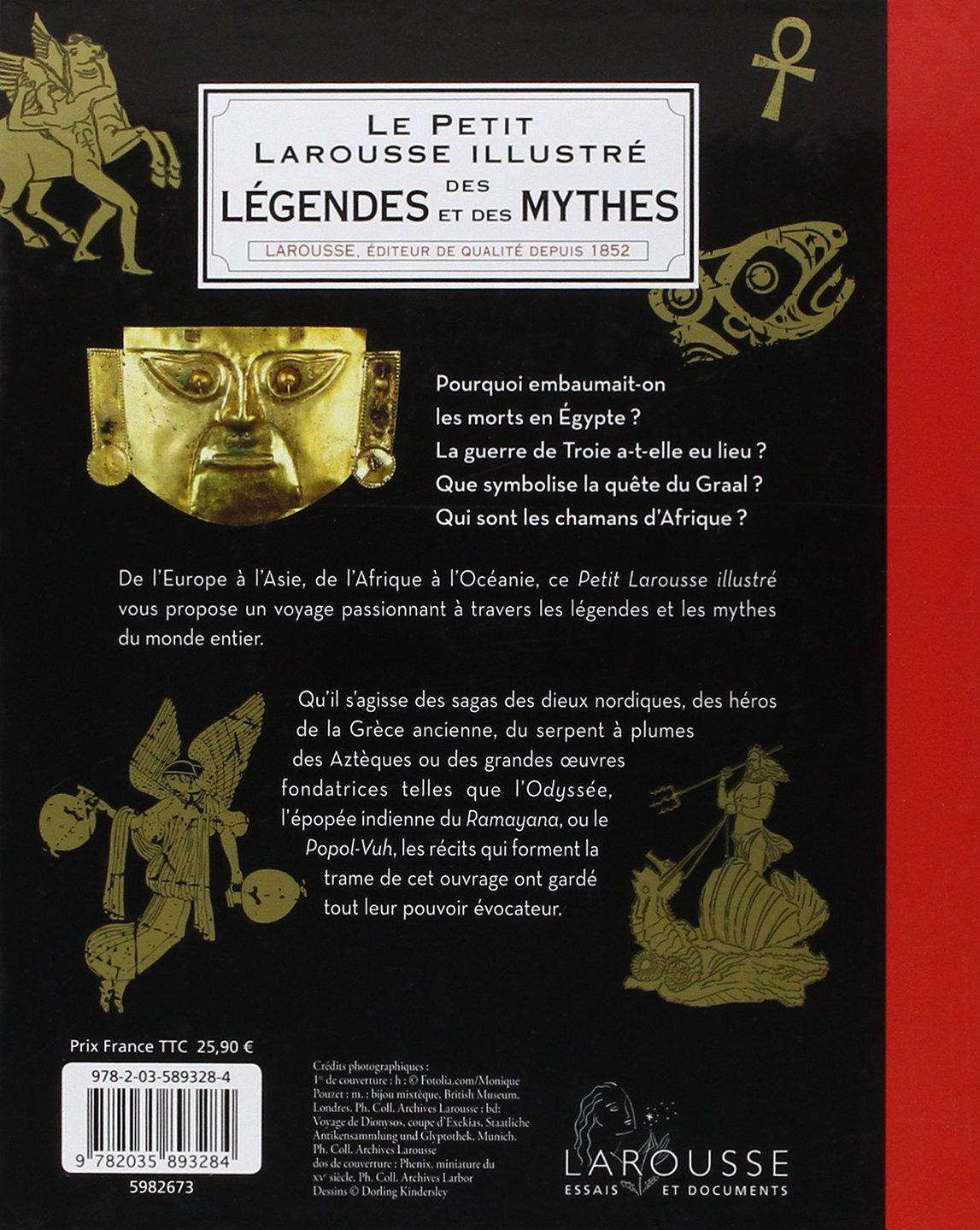 Salle De Bain Pluriel Larousse ~ Amazon Fr Petit Larousse Illustr Des L Gendes Et Des Mythes