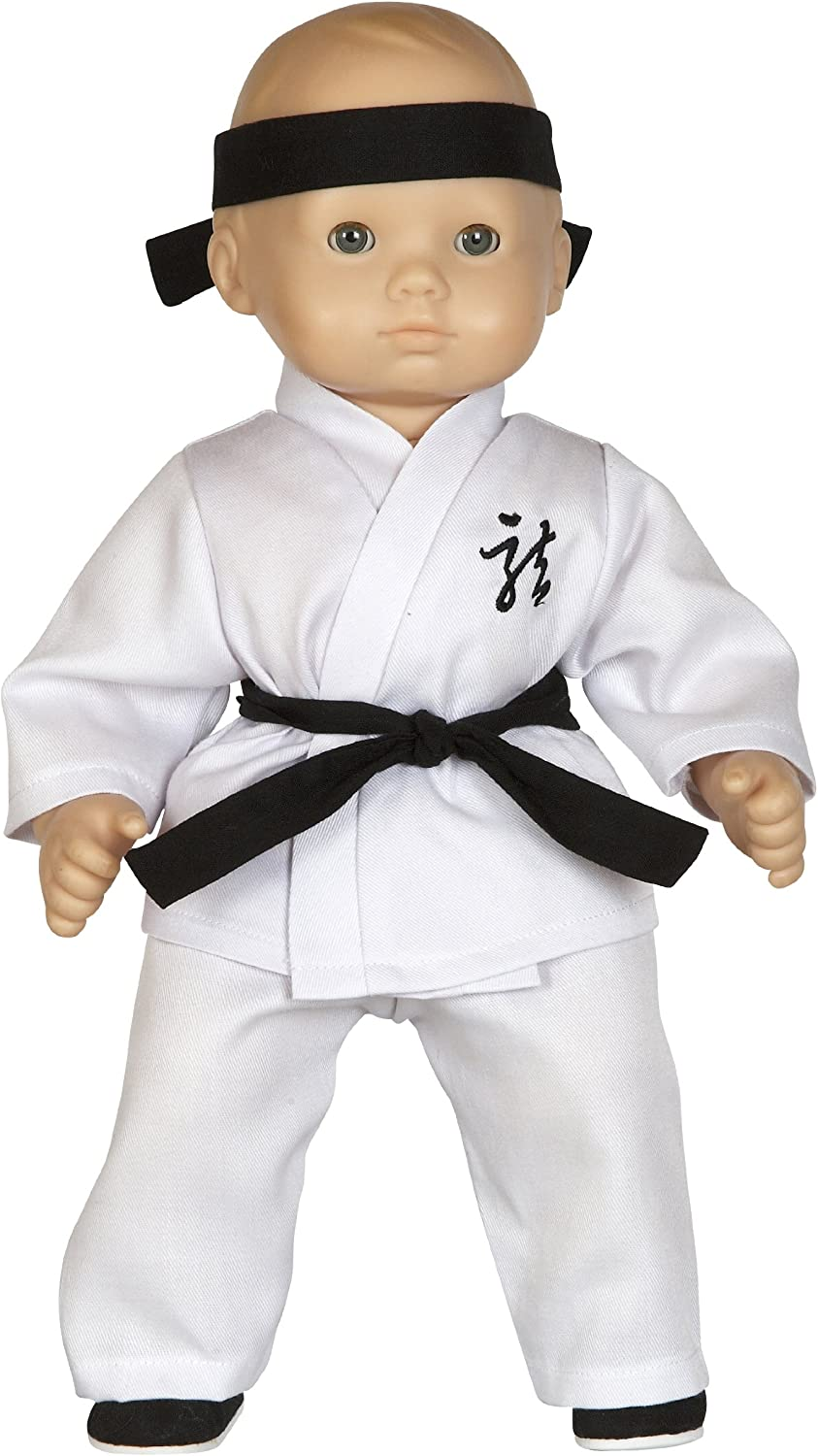 Handmade Doll Clothes Karate Uniform Gi Judo TKD Assorted Colors fit 15 American Girl Bitty Baby Dolls