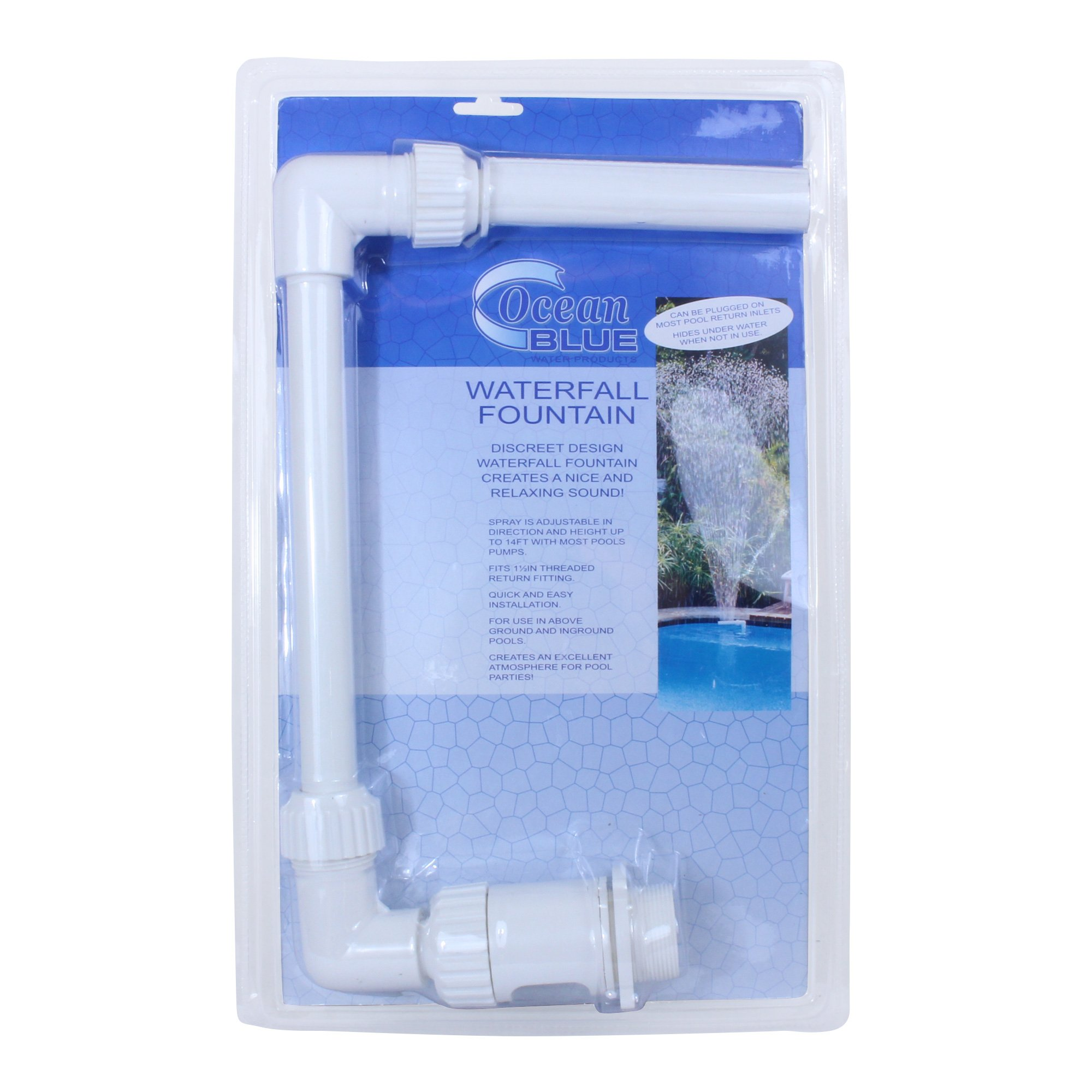 Ocean Blue Water Products Waterfall Fountain