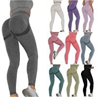 Keepwin Leggins Push Up Mujer Mallas de Deporte de Mujer Pantalones Largos Deportivas Mujeres Elásticos Pantalon de…