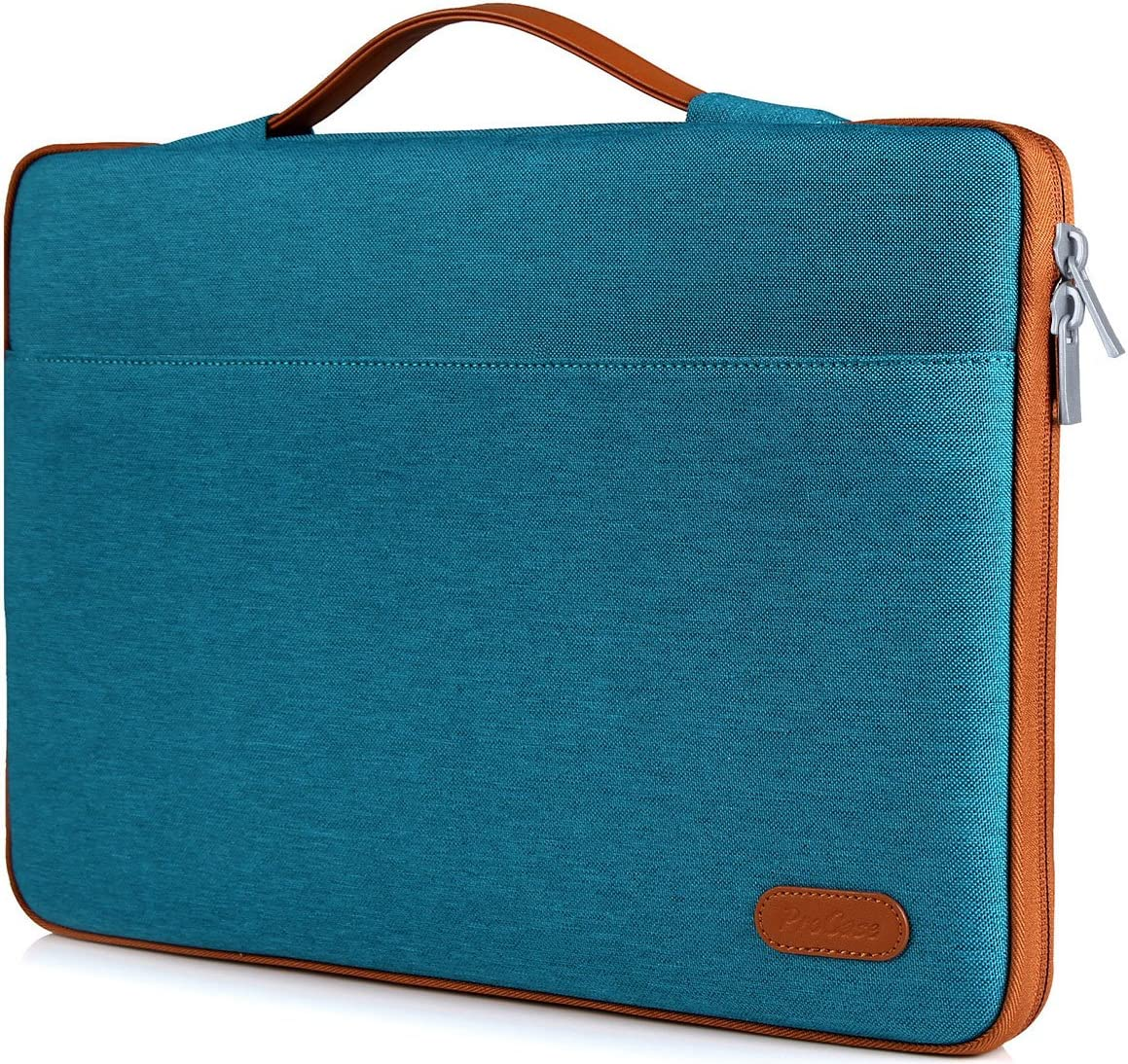 "ProCase 12-12.9 inch Sleeve Case Bag for Surface Pro X 2017/Pro 7 6 4 3, MacBook Pro 13, iPad Pro Protective Carrying Cover Handbag for 11"" 12"" Lenovo Dell Toshiba HP ASUS Acer Chromebook -Teal"