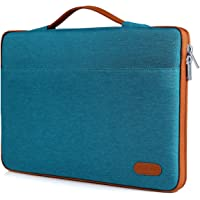 "ProCase Funda 12-12.9 Pulgadas para Surface Pro 6 2017 5 4 3 2 / MacBook Pro 13"" / Air 13"", Bolsa Portátil con Asa para 11 11.6 12 Pulgadas Chromebook Ultrabook Notebook Laptop -Verde Azulado"