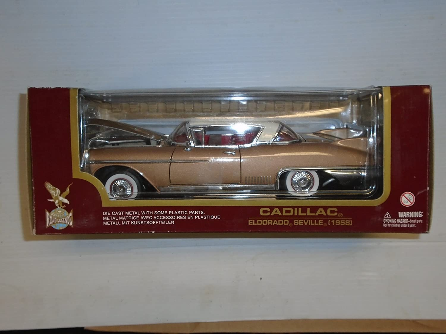 Amazon com: Road Legends Collection 1:18 scale 1958 Cadillac