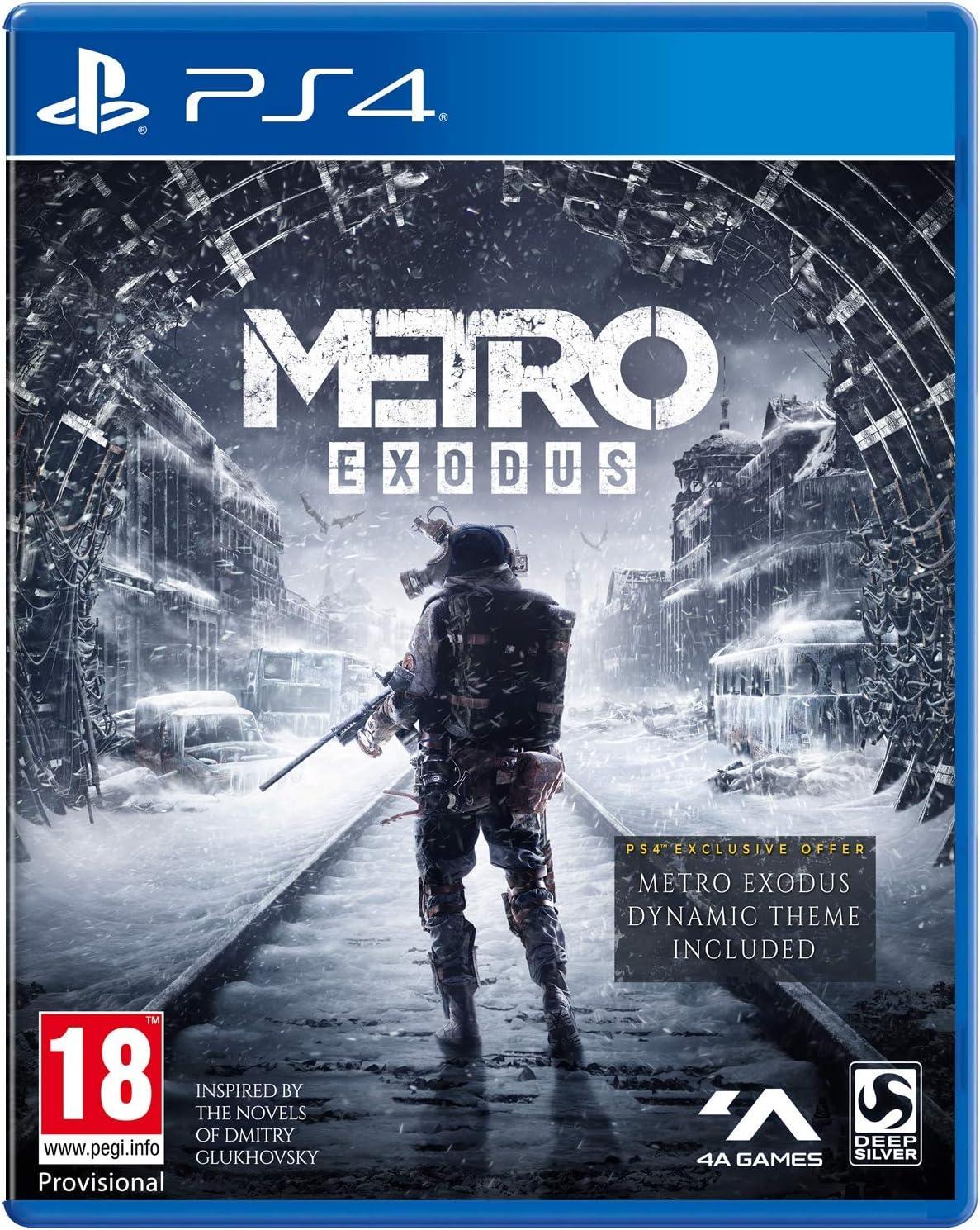 Metro Exodus (PS4): Amazon co uk: PC & Video Games