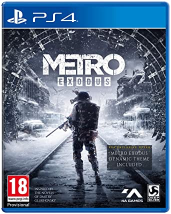 Metro Exodus (PS4): Amazon co uk: PC & Video Games