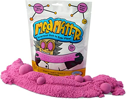 MAD MATTR Super-Soft Modelling Dough Compound That Never Dries out by Relevant Play (Pink, 10oz): Amazon.es: Juguetes y juegos