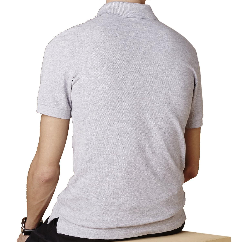 Lacoste Petit Piqué Slim Fit Polo Silver Chino PH5001 CCA - Polo ...