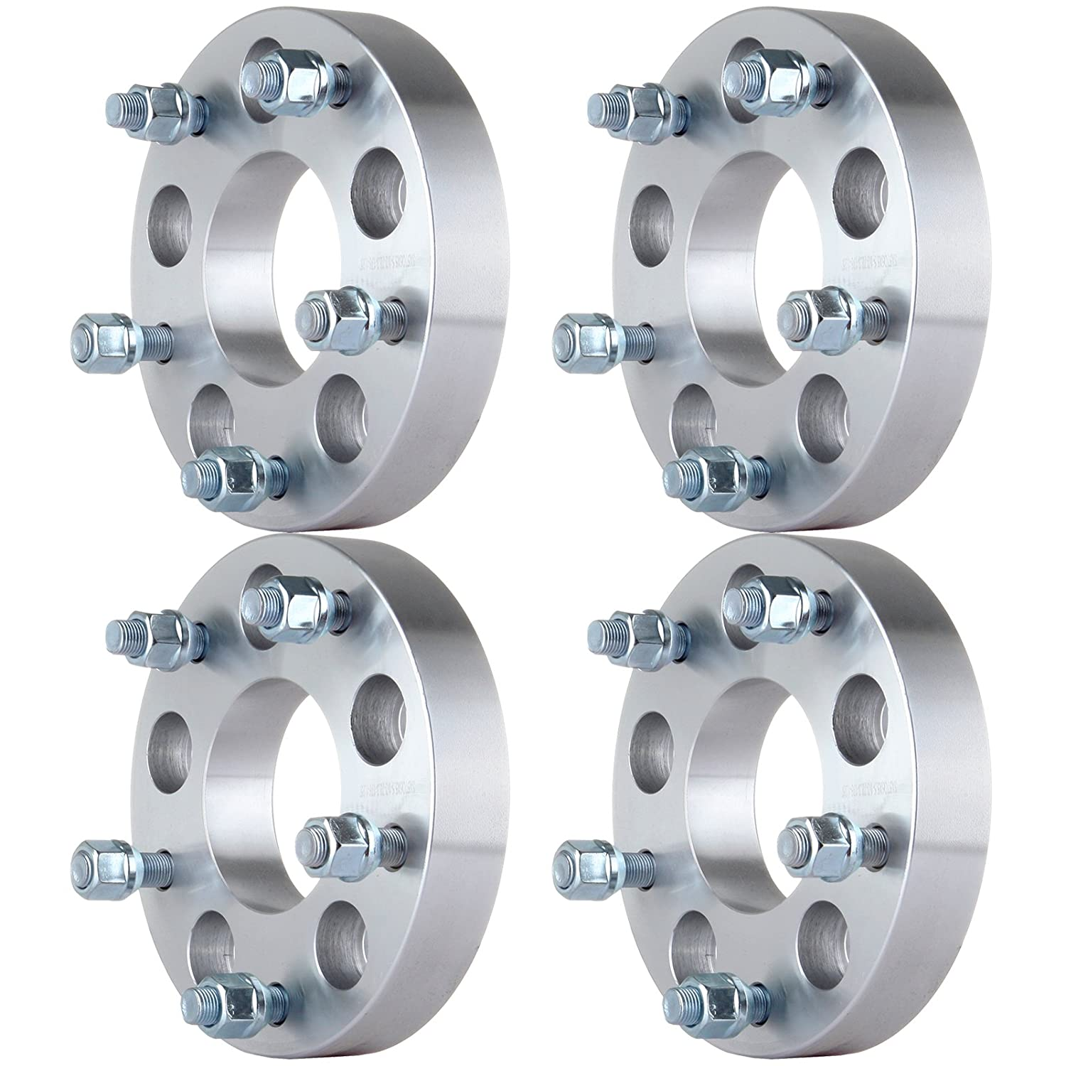 5x127 to 5x139.7 Wheel Spacers Fits GMC Buick Chevrolet Tahoe with 1//2 Studs ECCPP 5 lug wheel spacers adapters 4PCS 1.25 5x5 to 5x5.5