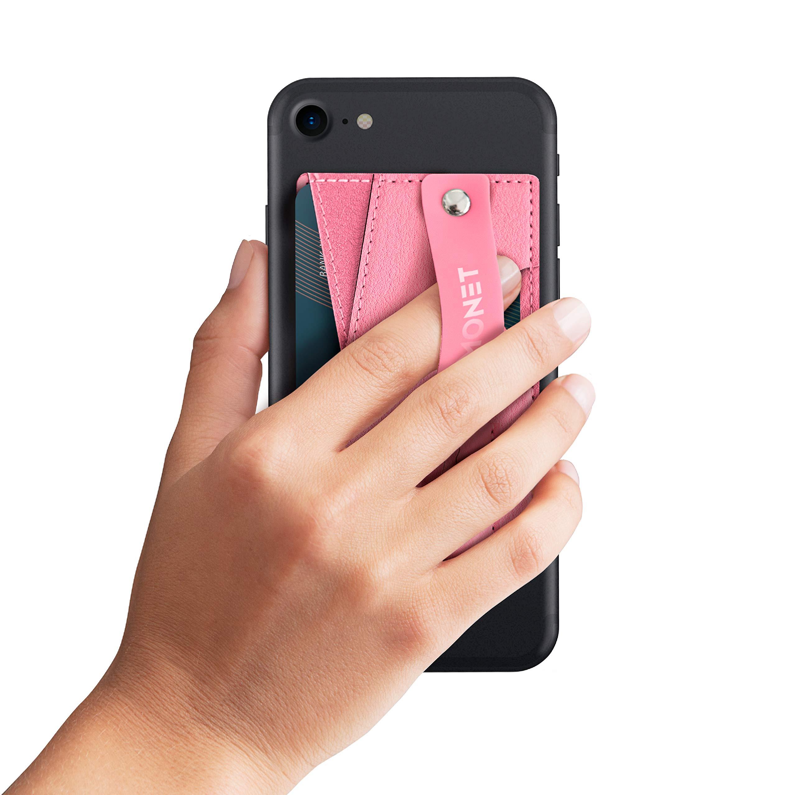 Monet Ultra Grip 3-in-1 Smart Phone Wallet | Card Holder | Kickstand | Light Pink by MONET