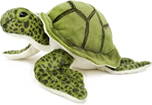VIAHART Turquoise The Green Sea Turtle | 9 Inch Tortoise Stuffed Animal Plush | by Tiger Tale Toys