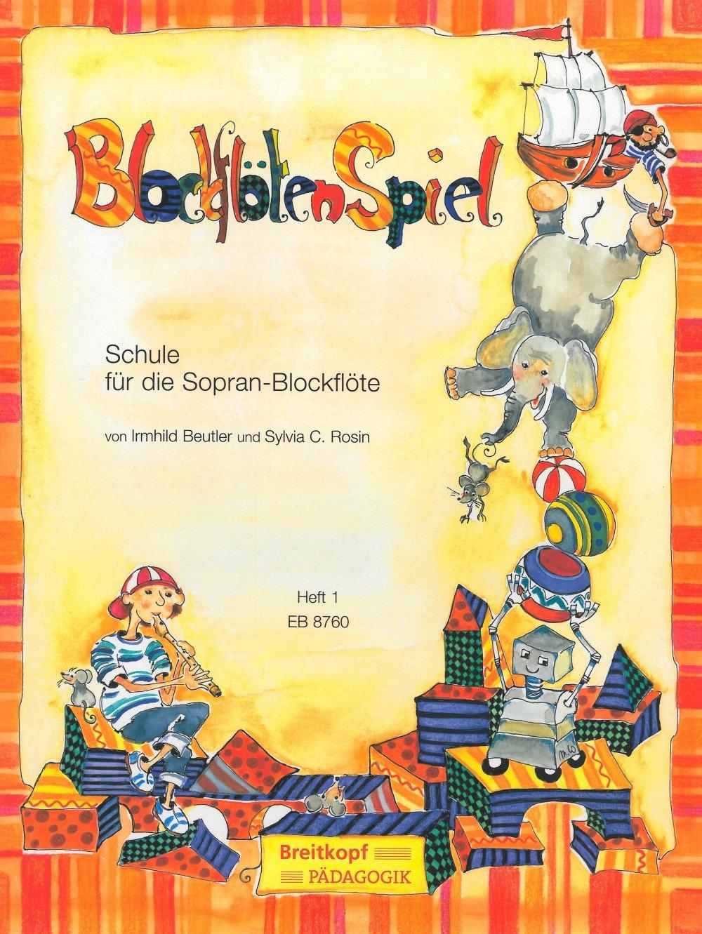 Schule für die Sopran-Blockflöte Heft 1 (EB 8760)