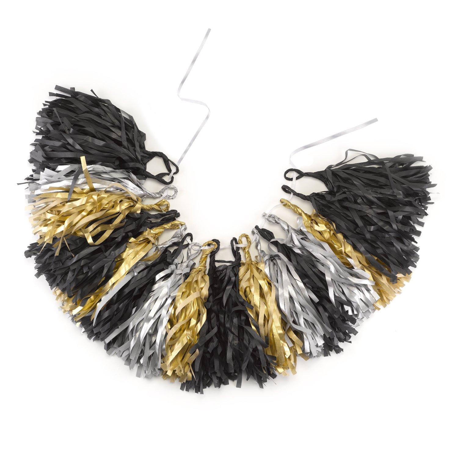 Hortense B. Hewitt Dramatic Glam Tassel Party Garland, Multicolor 20903