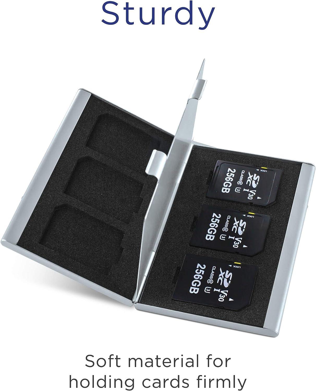Integral /Étui de Protection en Aluminium pour Carte SD