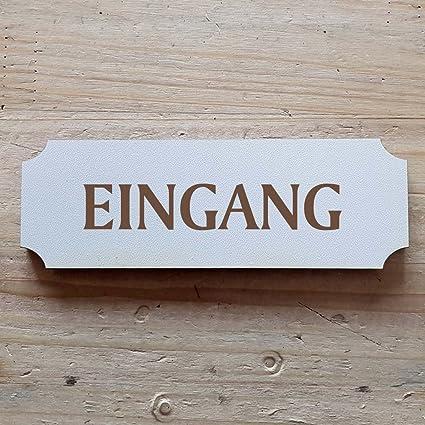 Cartel « » a partir de entrada: 15 x 5 cm - Placa para ...