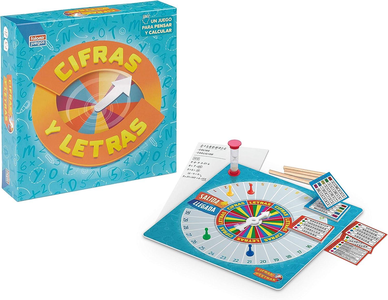 Falomir Cifras y Letras. Juego de Mesa. Family & Friends. (27525 ...