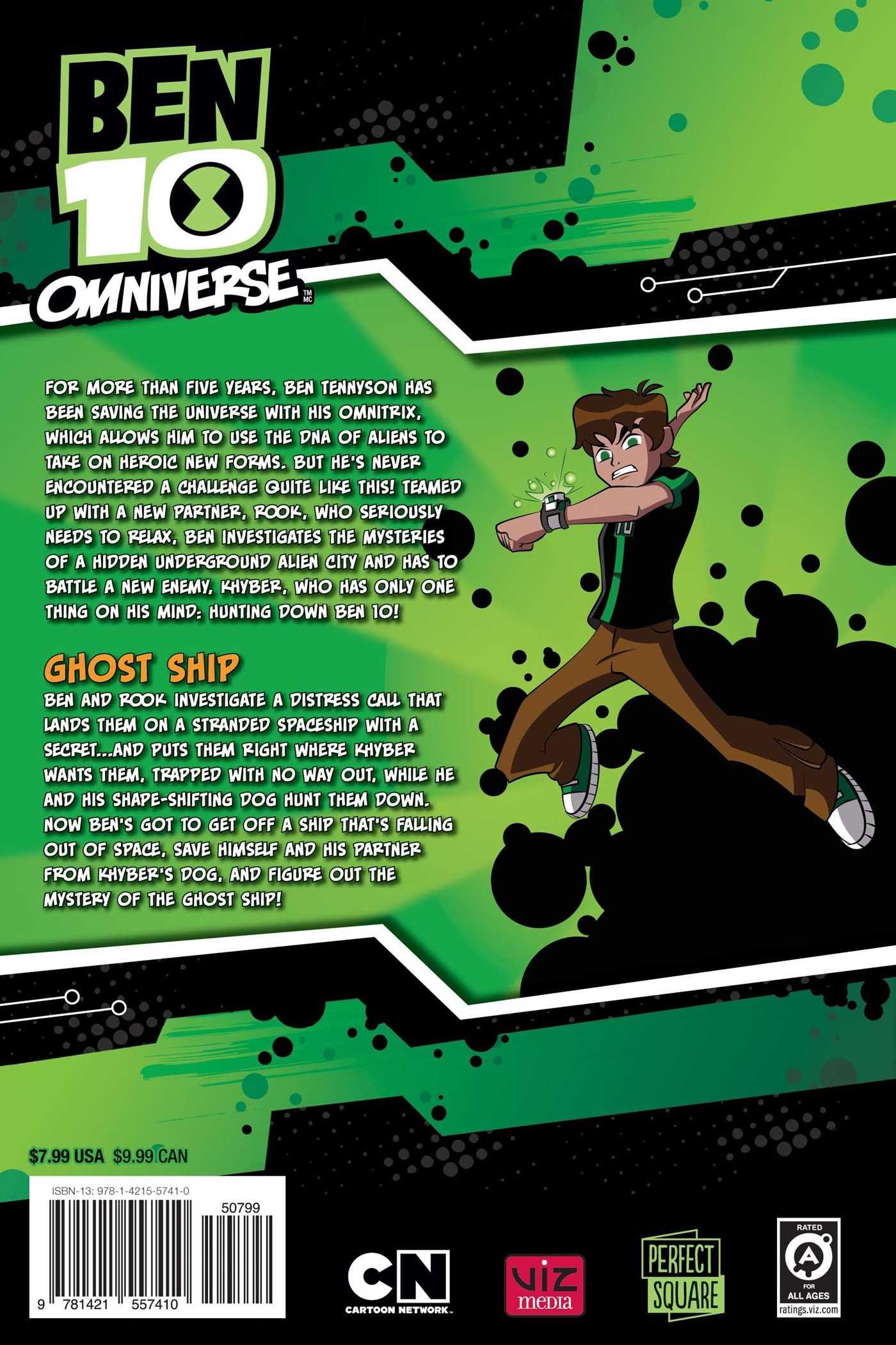 Amazon.com: Ben 10 Omniverse: Ghost Ship (9781421557410): Cory ...