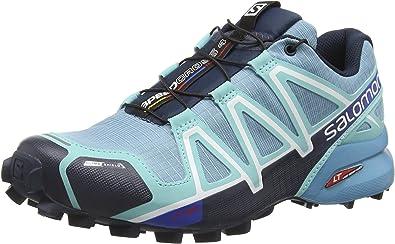 SALOMON Damen Speedcross 4 Cs Traillaufschuhe, blau 7H82U