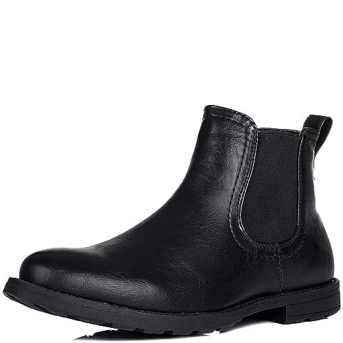 SPYLOVEBUY Marcel Hombre Planos Chelsea Boots Botines: Amazon.es: Zapatos y complementos