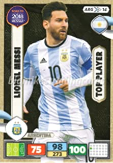 Amazon.com: ADRENALYN XL FIFA WORLD CUP 2018 INVINCIBLE CARD ...