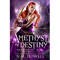 Amethyst of Destiny: A young adult epic fantasy adventure. (Dawn of the Gods Book 1) (English Edition)