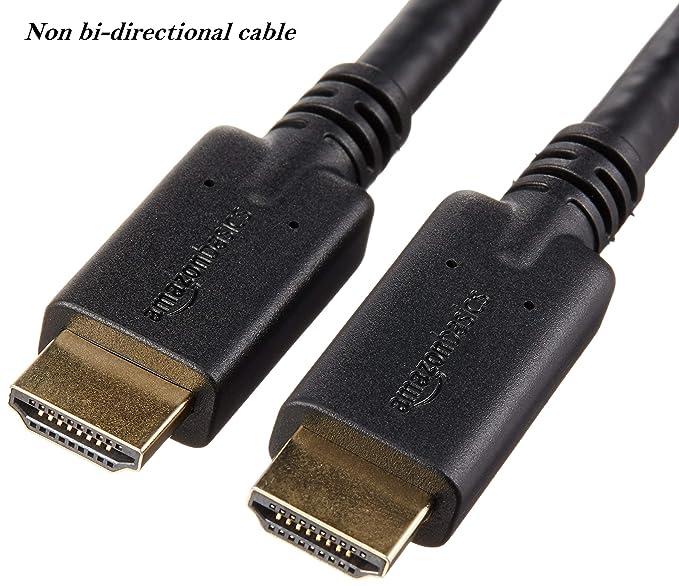 AmazonBasics - Cable HDMI no bidireccional de alta velocidad con RedMere: Amazon.es: Electrónica