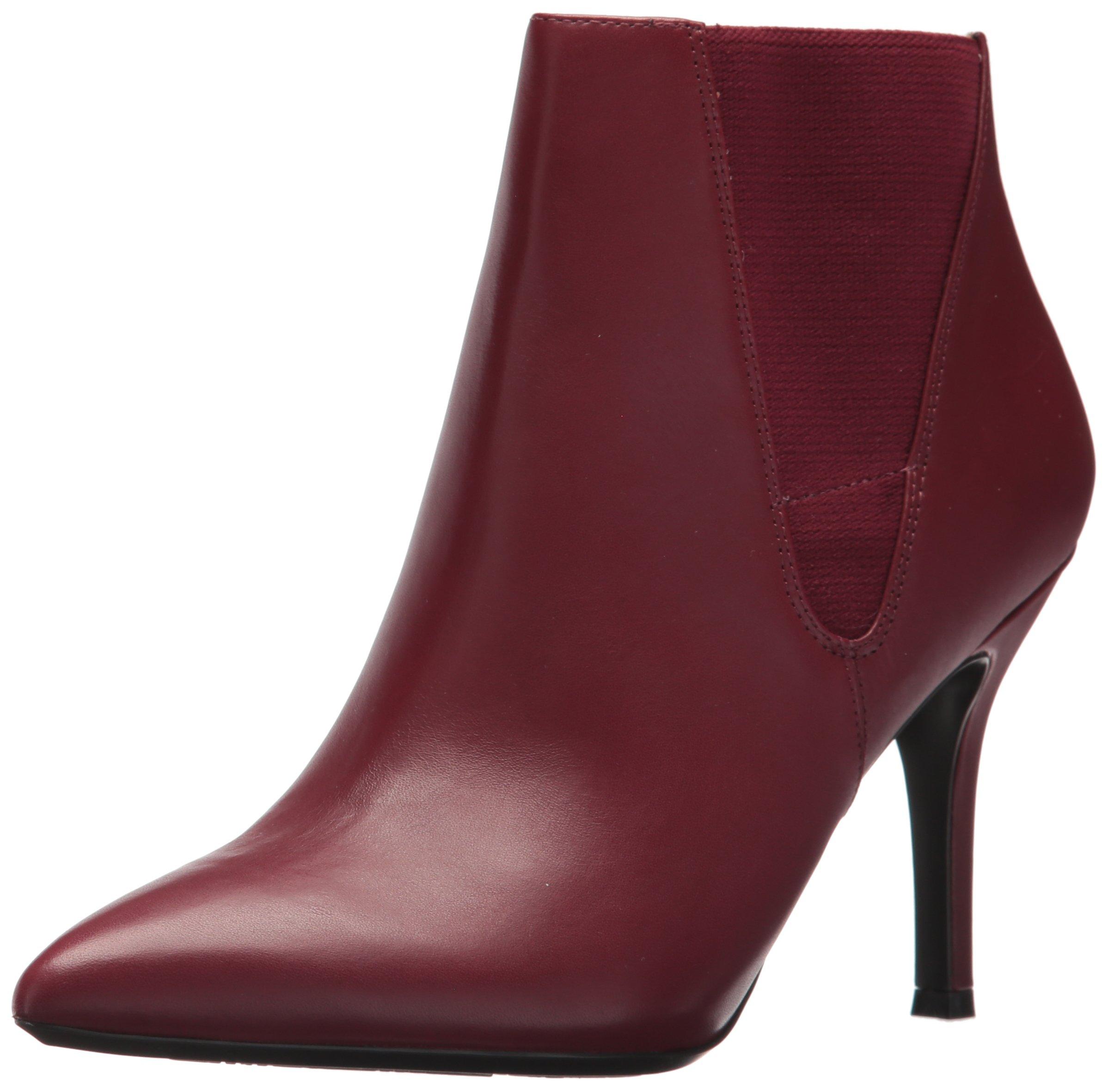 Nine West Women's FRONT9X9, Wine/Wine Leather, 9 M US