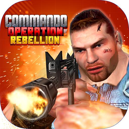 Commando Operation Rebellion - Monster Terrors Black