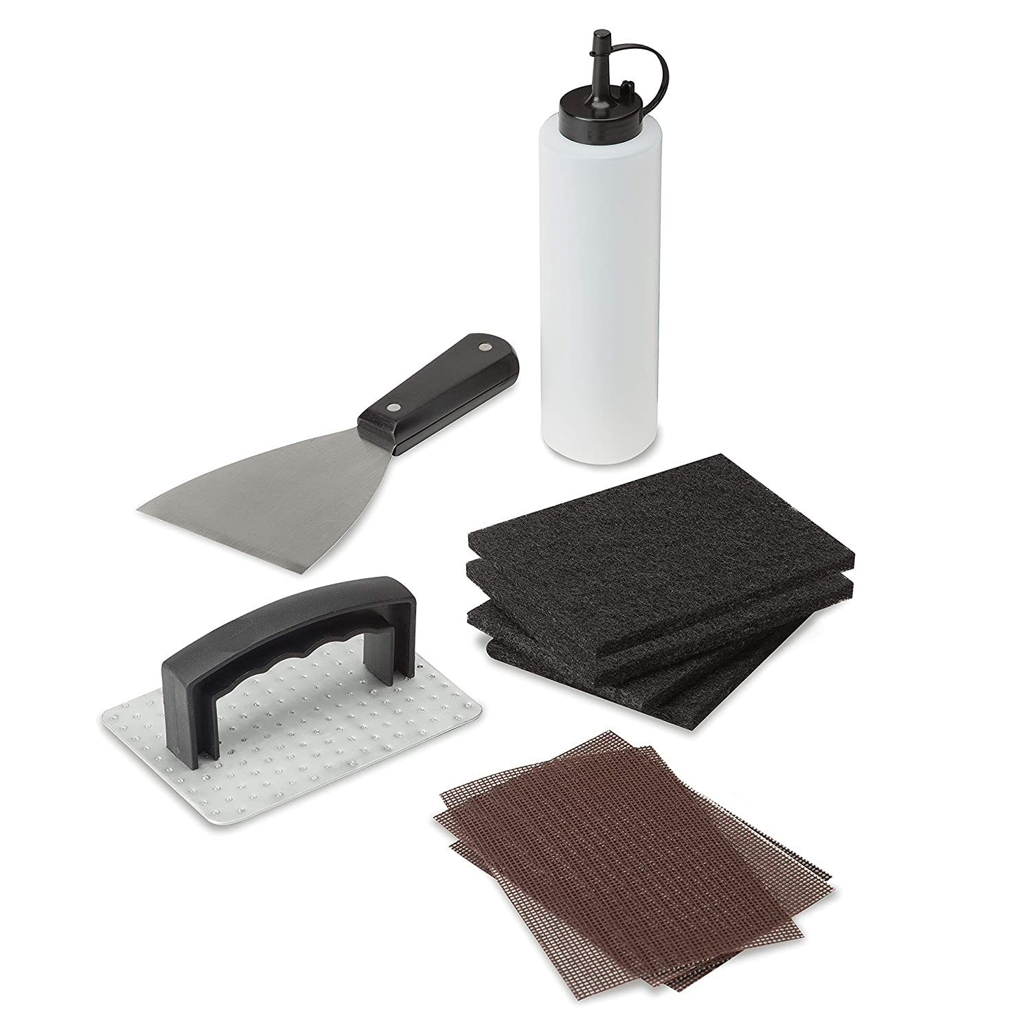Cuisinart CCK-358 10 Piece Griddle Cleaning Kit, Silver/Black