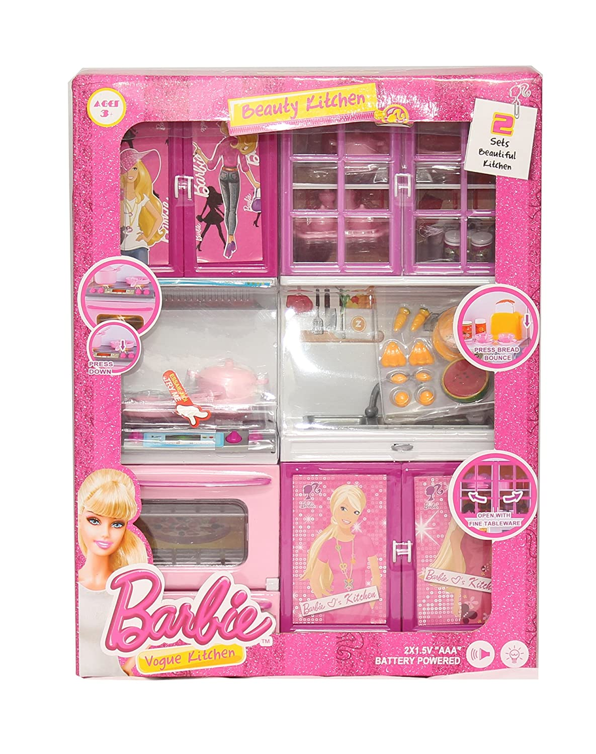 Buy tickles dream house kitchen set light sound toy 3 years plus online at low prices in india amazon in