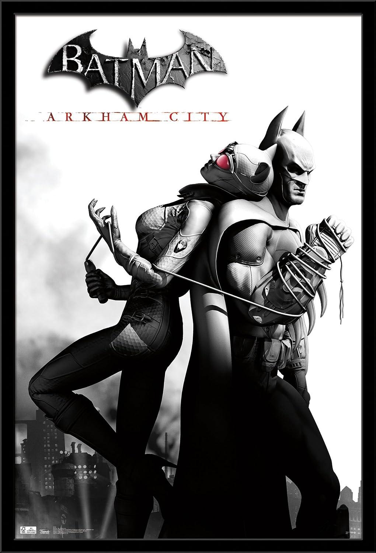 Trends International Arkham City Catwoman Wall Poster 24.25 X 35.75 Multi FR1343BLK22X34