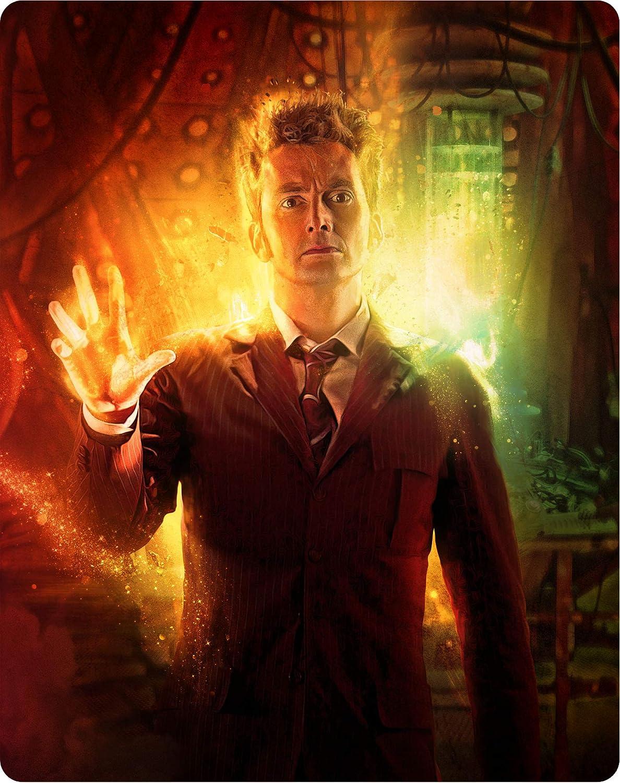 Doctor Who - The Specials Steelbook Edizione: Regno Unito Italia Blu-ray: Amazon.es: Cine y Series TV