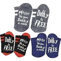 Himozoo Novelty Funny Master Has Given Dobby a Sock Dobby is Free Socks for Women Men Gift